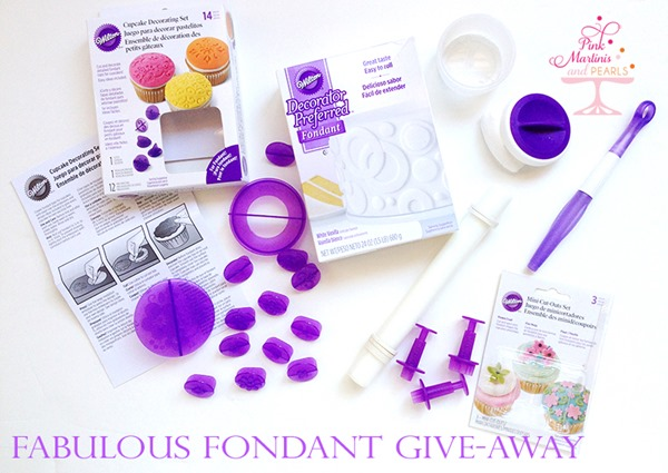 Wilton Fondant Cupcake Give-Away
