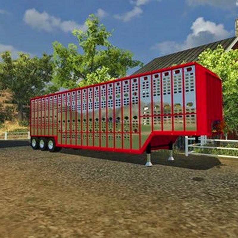 Farming simulator 2013 - U.S. Livestock Trailer v 1.0