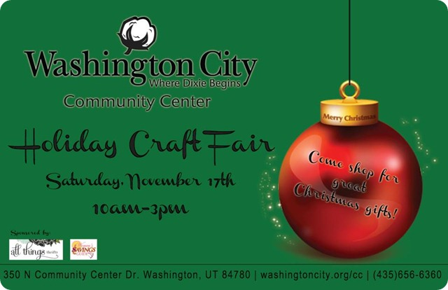 WCCC craft fair