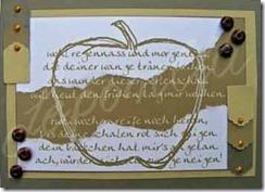 Apfelkarte