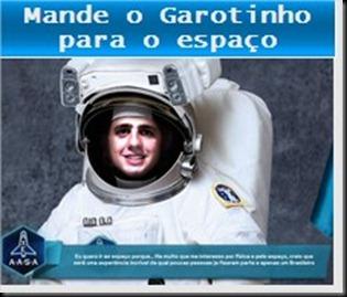Mande para o espaço