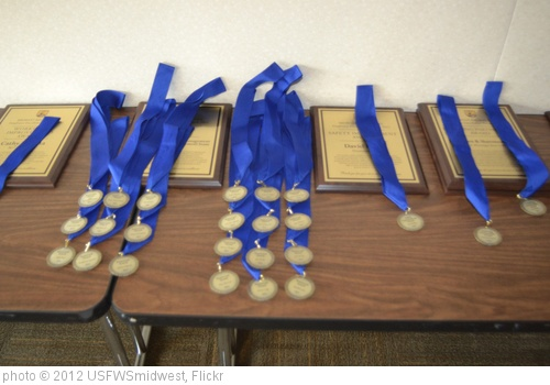 'Awards and Medals.' photo (c) 2012, USFWSmidwest - license: http://creativecommons.org/licenses/by/2.0/