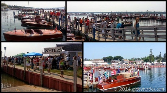 Crowds at boat show