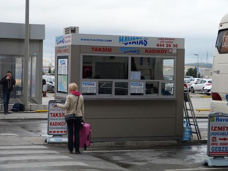 Stand Havatas la aeroport Sabiha Gokcen