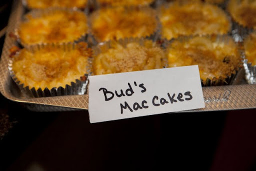 Liz's Mac Cakes, named for one of Liz's daughters, Maddie (who also answers to