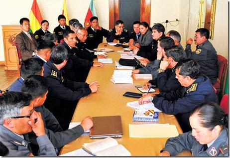 Conflicto de militares en Bolivia