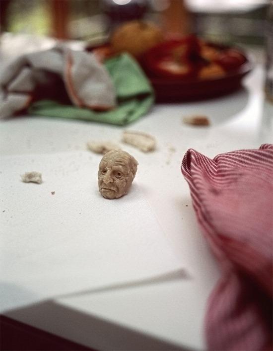 Escultura massa de pão (6)