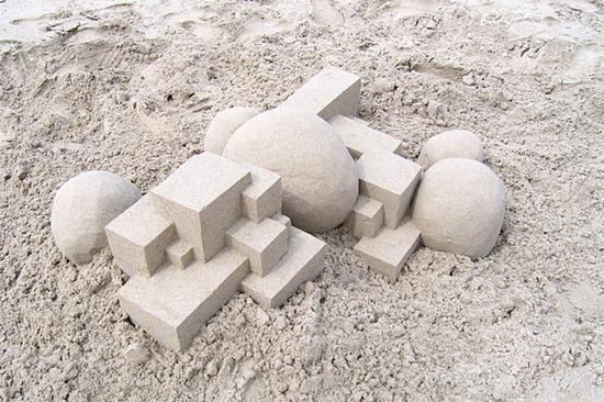 Castelos de areia geometricos (3)