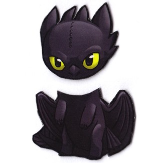 Mix and Match Magnets from Cosplay Scrample - Toothless