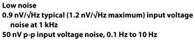 op amp noise