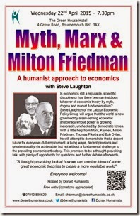 Myth, Marx & Milton Friedman 22 April 2015 Poster