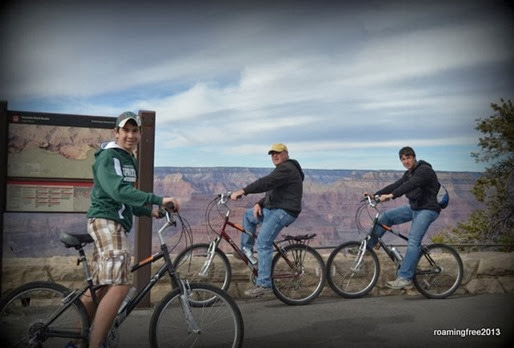 Biking the Grand Canyon