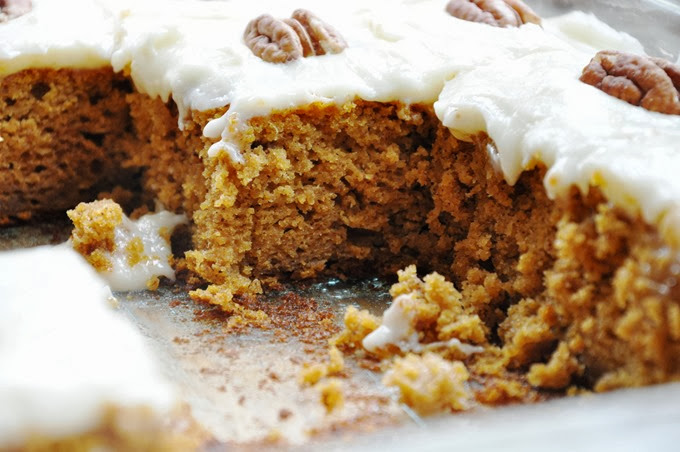pumpkin cake bars reduced-fat 108