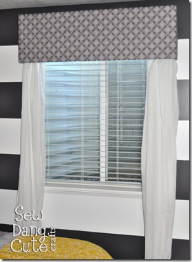 Window-valance-hung