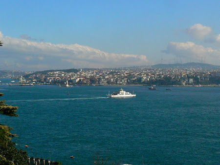 Sights of Turkey: Bosphorus in Istanbul