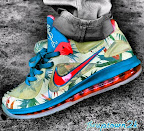 nike lebron 9 low pe lebronold palmer 5 04 Nike LeBron 9 Low LeBronold Palmer Alternate   Inverted Sample