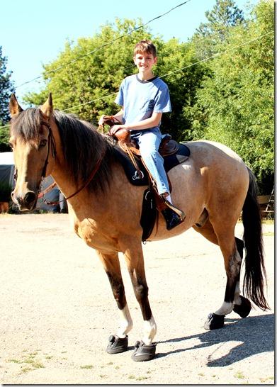 AJ riding
