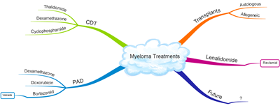 Myeloma Treatments mind map_High