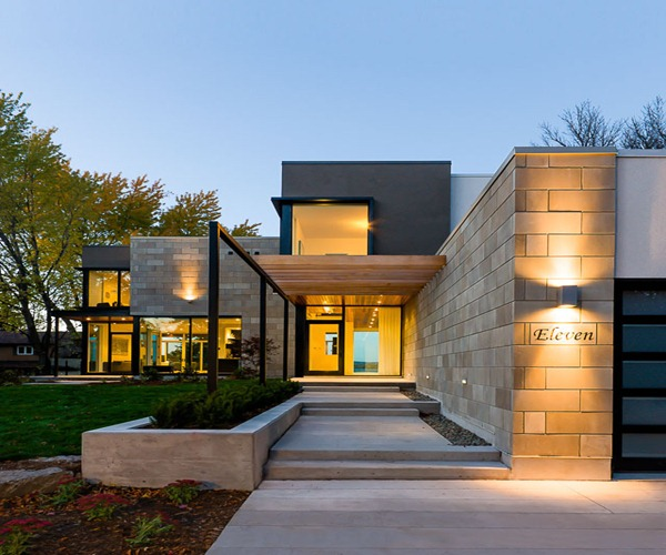 Ottawa river house christopher simmonds architect for Arquitectura de casas modernas