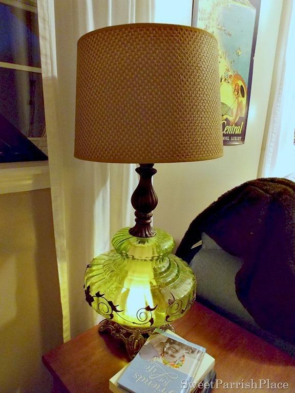 Vintage Green Lamp3