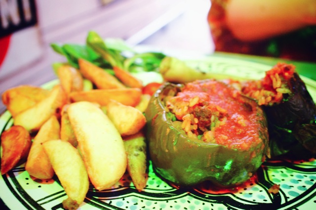 food at hotel bazar