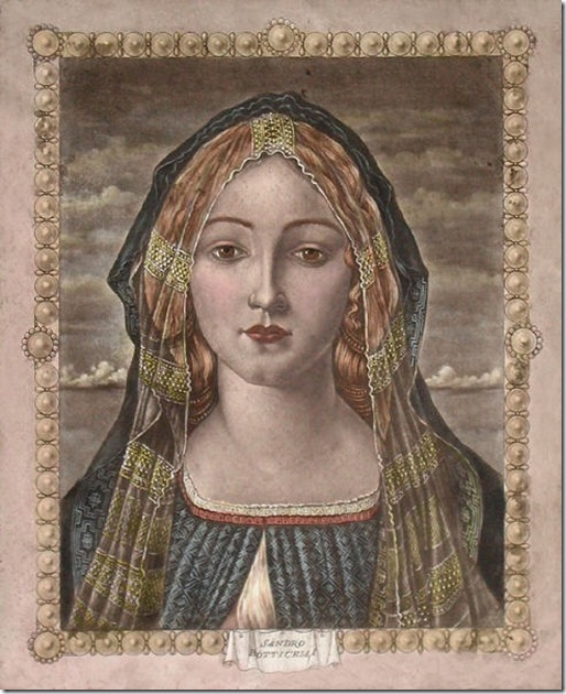 Botticelli Intaglio