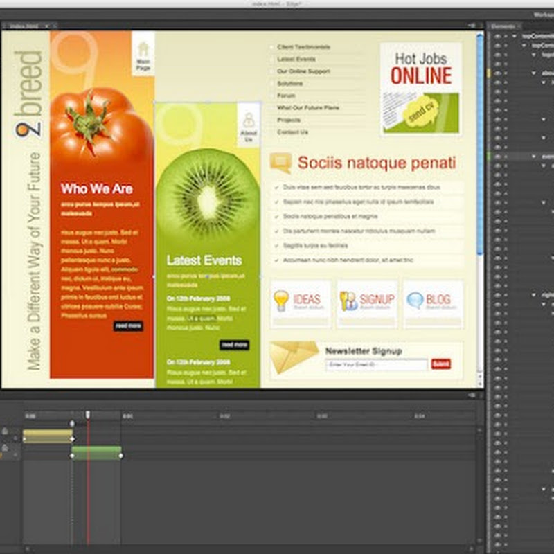 Adobe Releases Free HTML5 Animation Editor Edge
