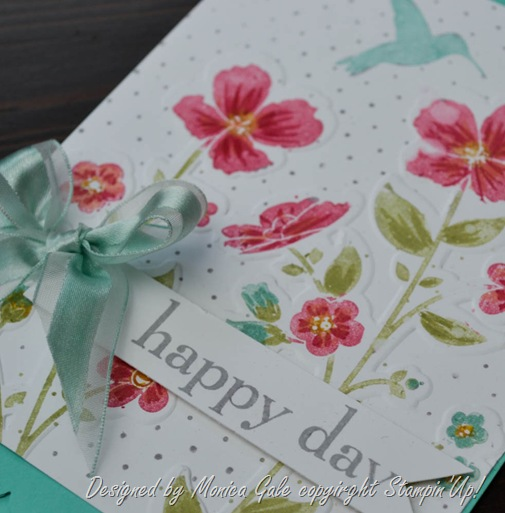 Stampin'Up! Wildflower Meadow close