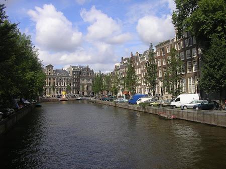 Obiective turistice Amsterdam: Canalele