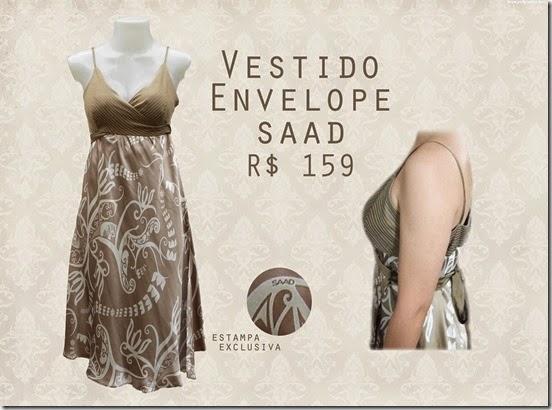 vestido wrap