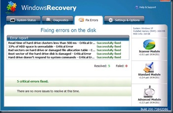 Windows Recovery