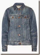 Madewell distressed denim jacket