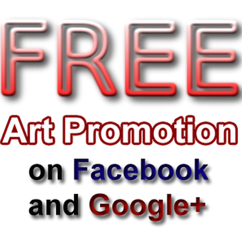 Call for Artists – Free Promotion on Facebook and Google Plus