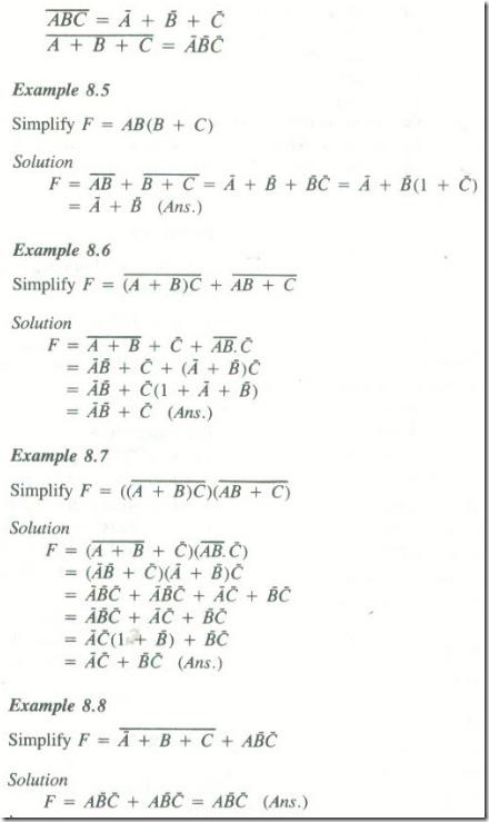 Design Of Combination Logic Circuit