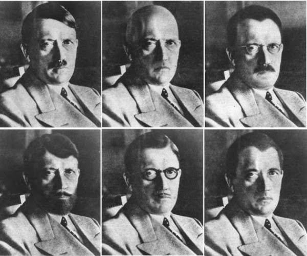 Fotos manipuladas de Hitler