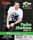 Pedro Mariano no Teatro Abril em São Paulo