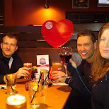 eats and drinks at boston pizza in Milton, Ontario, Canada