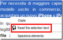 Read the selection text