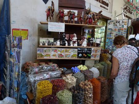Obiective turistice Dubai: bazar mirodenii