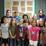 WBFJ Cici's Pizza Pledge - New Hope Christian Academy -Mrs. Lackey's 4th Class-Thomasville - 3-14-12
