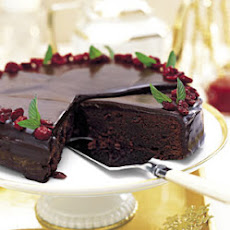 Chocolate-Cranberry Torte