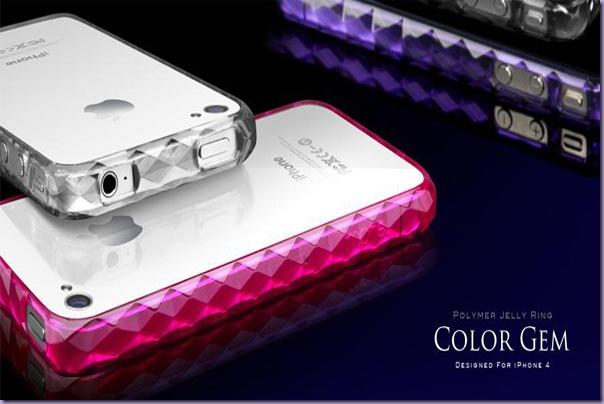 Capinhas-Iphone-4-Color-Gem-Rosa-Branco-Roxo