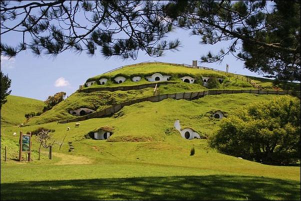 المعالم الطبيعية في نيوزلندا