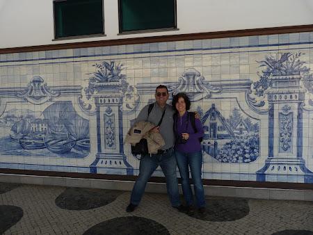 Imagini Funchal: azulejos in aeroport
