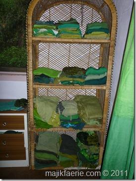 53 green closet
