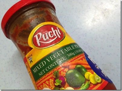 Ruchi mixed vegetable Indian pickle