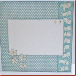 Blått baby kort (2)