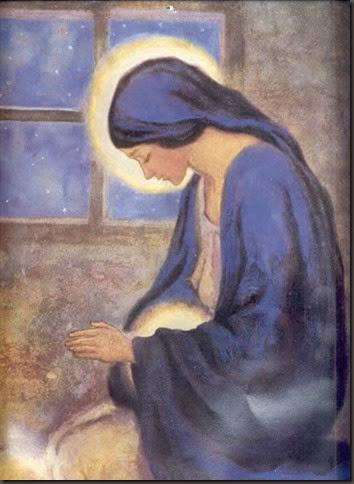VIRGEN MARIA EN LA ENCARNACIÓN