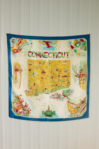 Connecticut scarf. (Martha Stewart Living, July 2010)