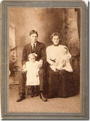 grandma and grandpa, mabel and mom